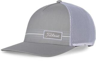 Titleist Surf Stripe Mens Cap Grey/White