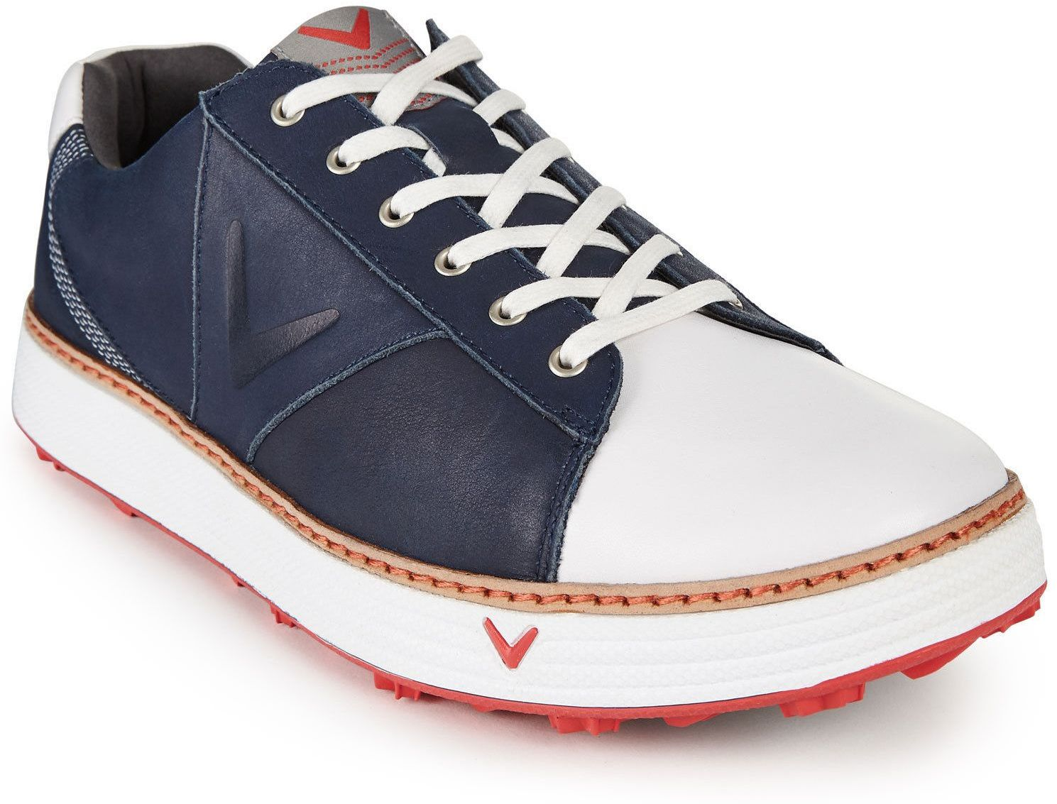 Callaway Del Mar Retro Mens Golf Shoes Navy White Uk 10 Muziker Dk