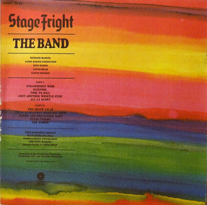 The Band Stage Fright (Remixed) (Vinyl LP)