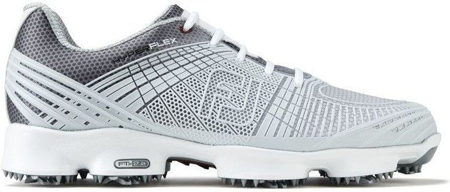 Footjoy Hyperflex II Mens Golf Shoes Grey/Silver US 11