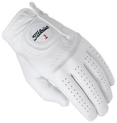 Titleist Perma Soft Mens Golf Glove White Right Hand for Left Handed Golfers M