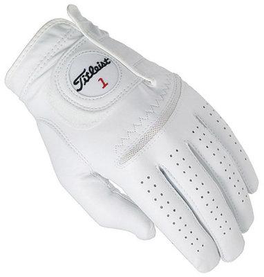 Titleist Perma Soft Mens Golf Glove Pearl LH ML