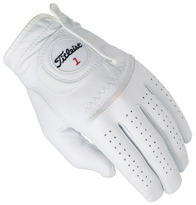 Titleist Perma Soft Mens Golf Glove Pearl Left Hand for Right Handed Golfers S