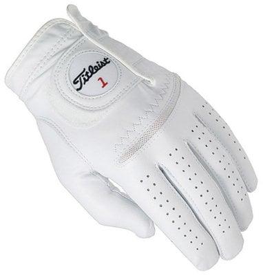 Titleist Perma Soft Herren Golfhandschuh Weiß Linke Hand für Rechtshänder XL
