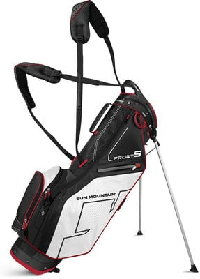 Sun Mountain Front 9 Black/White/Red Stand Bag