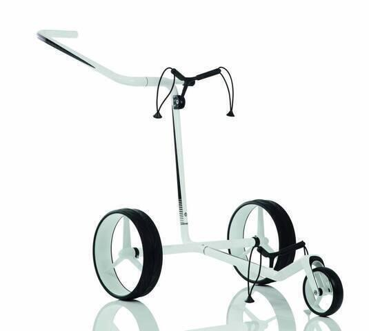 Jucad Carbon 3-Wheel White/Black Golf Trolley