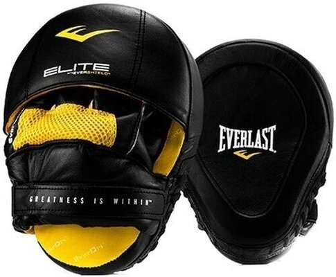 Everlast Elite Mantis Mitts Black