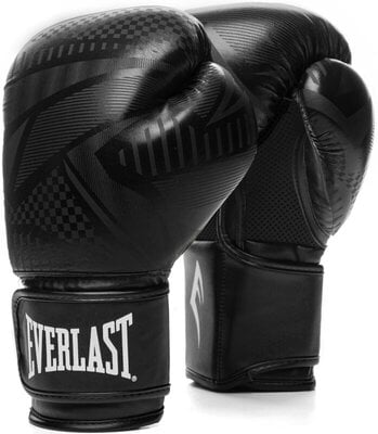 Everlast Spark Gloves Black Geo 12 oz