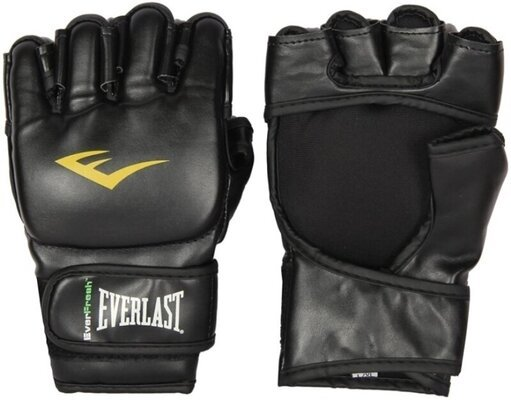 Everlast MMA Grappling Gloves Black S/M