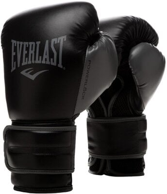 Everlast Powerlock 2R Training Gloves Black 12 oz