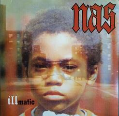 Nas Illmatic (LP) Újra kibocsát