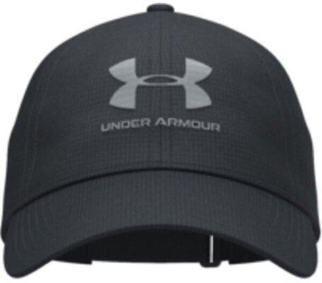 Under Armour Isochill Armourvent Mens Cap Black/Pitch Gray