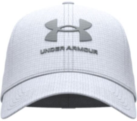 Under Armour Isochill Armourvent Mens Cap White/Pitch Gray L/XL