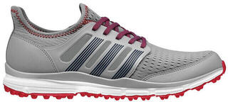 Adidas Climacool Mens Golf Shoes Mid Grey/Night Marine/Power Red