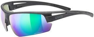 UVEX Sportstyle Ocean P Black Mat/Green