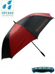 Bennington Wind Vent Umbrella Blk/Red