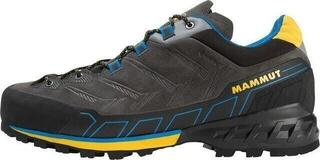Mammut Kento Low GTX Mens Shoes Dark Titanium/Freesia UK 11