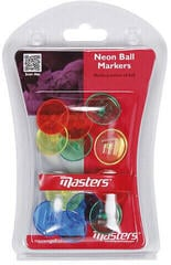 Masters Golf Neon Ball Markers X 12