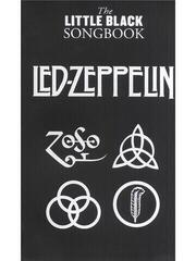 Music Sales The Little Black Songbook: Led Zeppelin