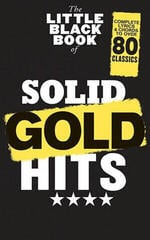 The Little Black Songbook The Little Black Book Of Solid Gold Hits