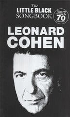 Music Sales The Little Black Songbook: Leonard Cohen
