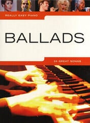 Music Sales Really Easy Piano: Ballads