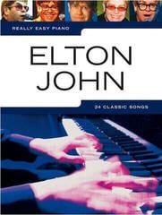 Music Sales Really Easy Piano: Elton John