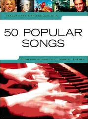 Music Sales Really Easy Piano: 50 Popular Songs Music Book