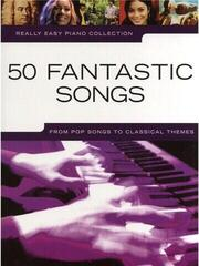 Music Sales Really Easy Piano: 50 Fantastic Songs Music Book