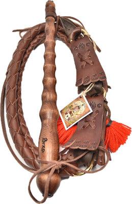 Brxa Shepherd's Whip Medium Brown