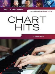 Music Sales Really Easy Piano: Chart Hits Vol.3 Autumn/Winter 2016)
