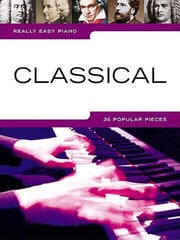 Music Sales Really Easy Piano: Classical Music Book