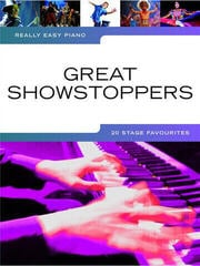 Music Sales Really Easy Piano: Great Showstoppers - 20 Stage Favourites