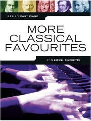 Music Sales Really Easy Piano: More Classical Favourites