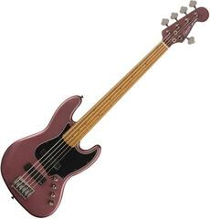 Fender Squier Contemporary Jazz Bass Burgundy Satin