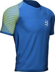 Compressport Performance SS Tshirt M Blau