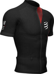 Compressport Trail Postural SS Top M Fekete