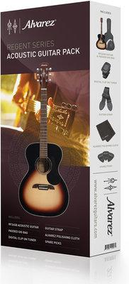 Alvarez RF26SSB-AGP Acoustic Guitar Pack