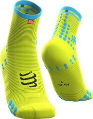 Compressport Pro Racing Socks v3.0 Run High Fluo Yellow/High