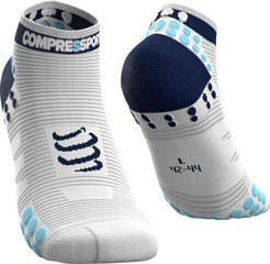 Compressport Pro Racing Socks v3.0 Run High Blue-White/Low