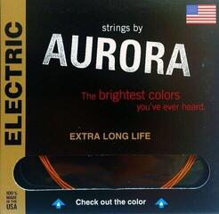 Aurora Premium Electric Guitar Strings Extra Heavy 12-52 Clear