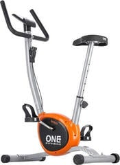 One Fitness RW3011 Exercise Bike Grey/Orange