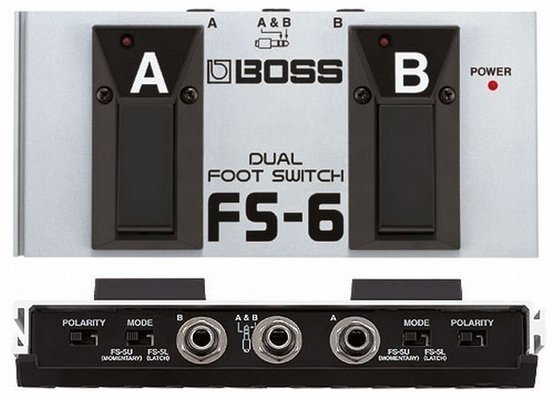 Boss FS6 Dual Foot Switch