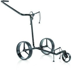 Jucad Carbon 3-Wheel Black Golf Trolley