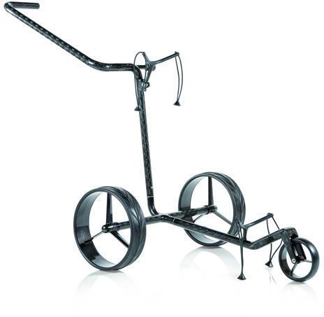Jucad Carbon 3-Wheel Black Golf Trolley