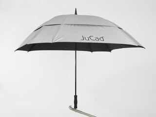 Jucad Umbrella Telescopic Square & Windproof Silver