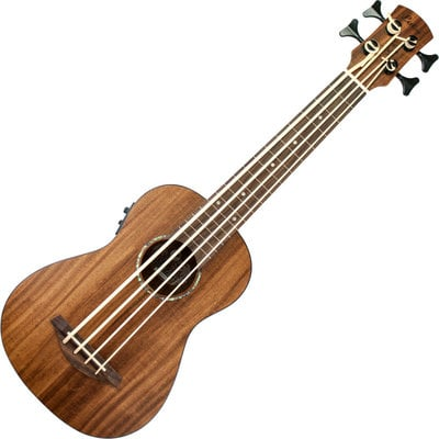 Laka Ukulele Bass Electro-Acoustic Acacia Koa