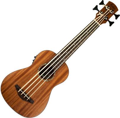 Laka Ukulele Bass Electro-Acoustic Mahogany
