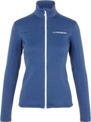 J.Lindeberg Flora Womens Mid Layer Midnight Blue Melange XS