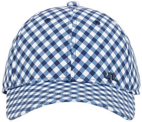 J.Lindeberg Christine Womens Cap Gingham Navy White